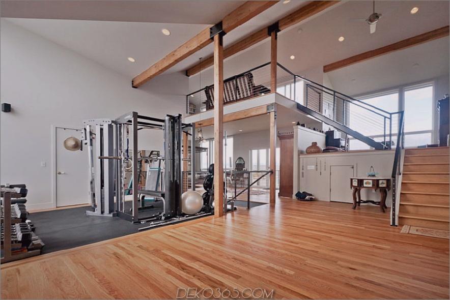 Fitnessstudio im Loft