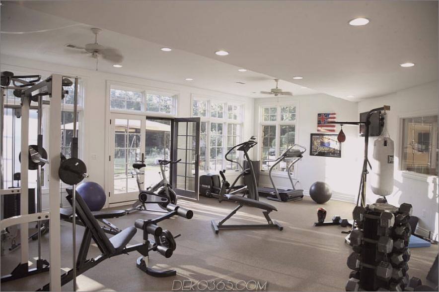 Französisches Country Estate Fitnessstudio