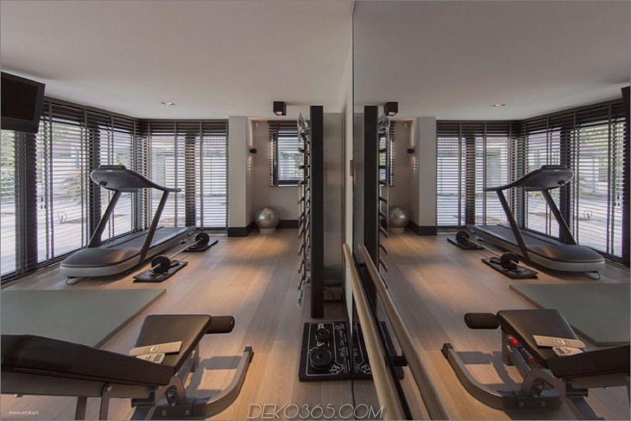 Stilvolles Fitnessstudio