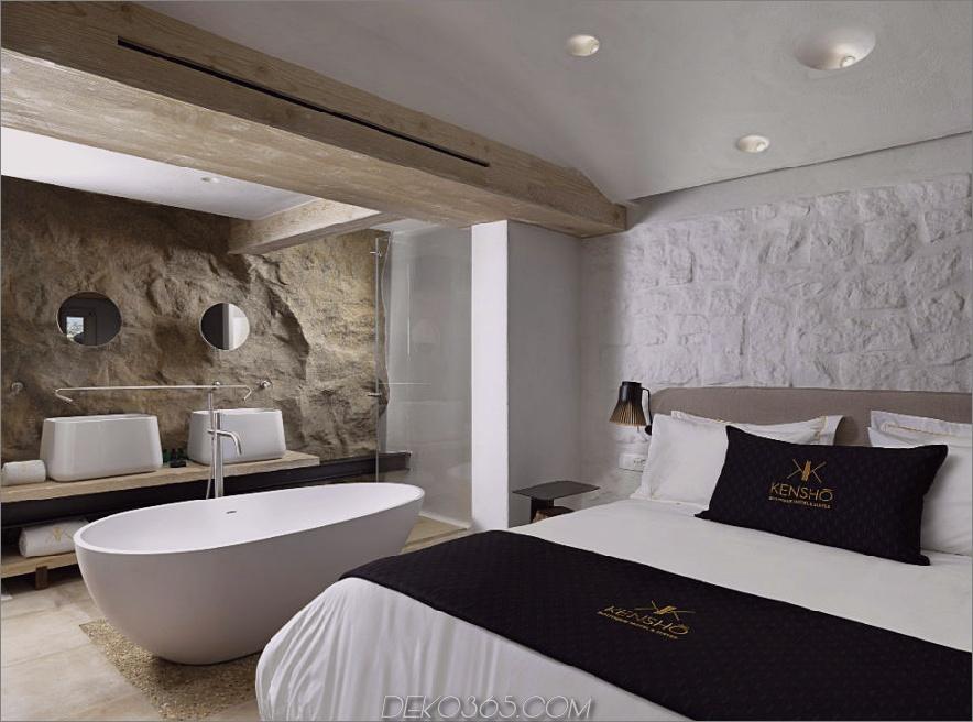 Kenshō Boutique Hotel Suites 900x667 Hotelbad Ideen für das Hauptschlafzimmer