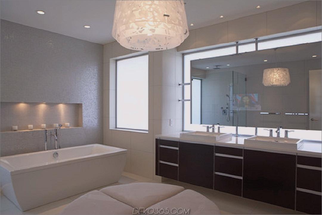 moderne Leuchte im Badezimmer Badezimmerleuchten Ideen für jeden Stil