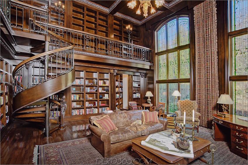 Traditionelle Heimbibliothek In diesen 38 Heimbibliotheken fühlen Sie sich wie Belle