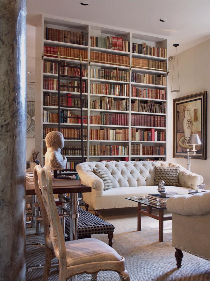 Traditionelle Heimbibliotheken