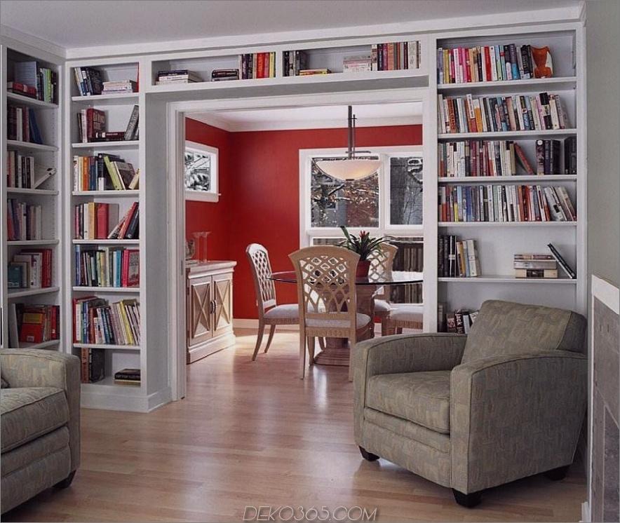 Kleine Heimbibliothek