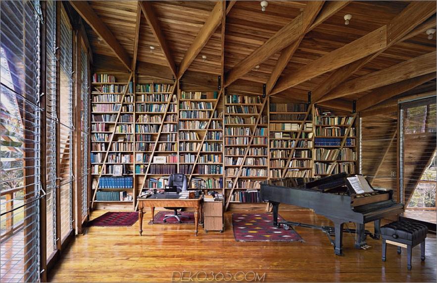 Öffnen Sie das Design der Heimatbibliothek