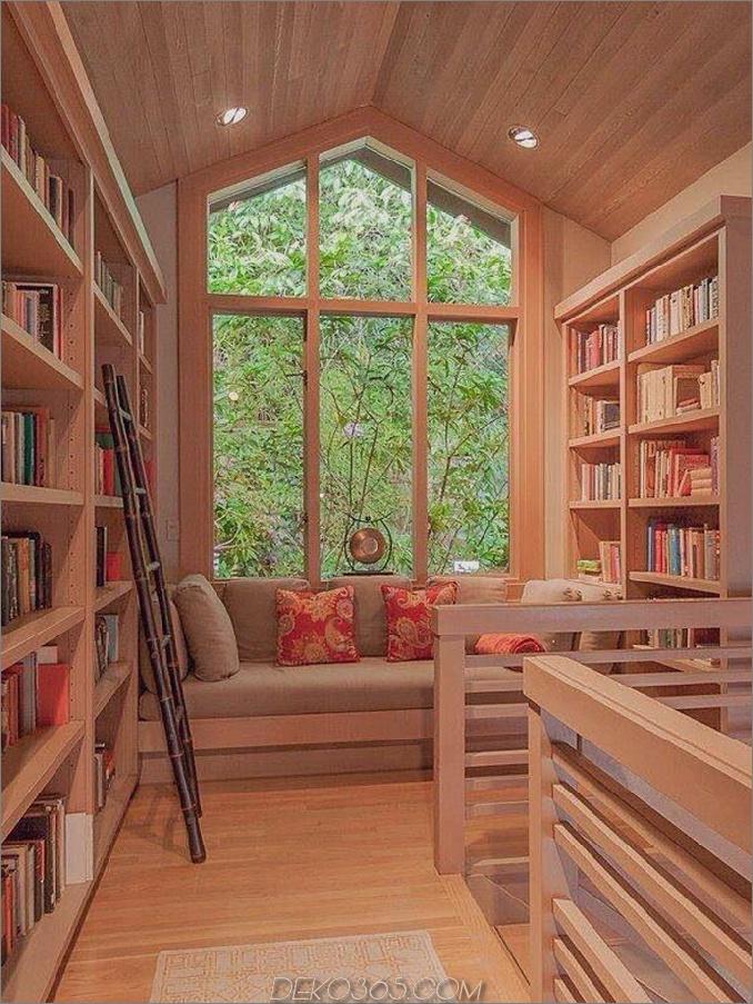 Home Library Nook Design