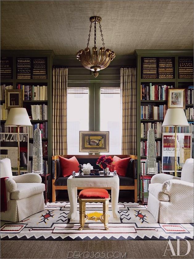 Cottage-Heimbibliothek