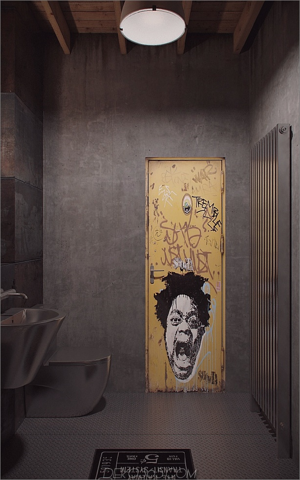 Industrial-Urban-Masculine-Apartment-Nordes-Bathroom-Door-Interior.jpg