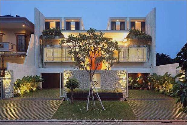 indonesisches Zen-Haus mit detailliertem gartengefülltem Interieur 1 Vorderzeiger Daumen 630x422 31384 Innenhof Gartenhaus