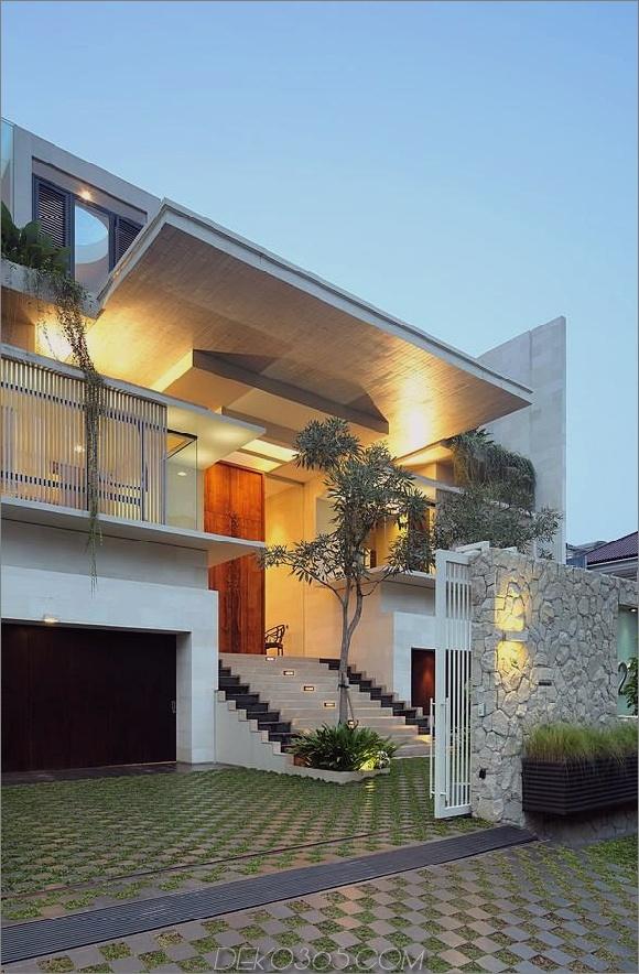 indonesisches Zen-Haus mit detailliertem gartengefülltem Interieur 2 Frontschichten Daumen 630x961 31386 Innenhof Gartenhaus