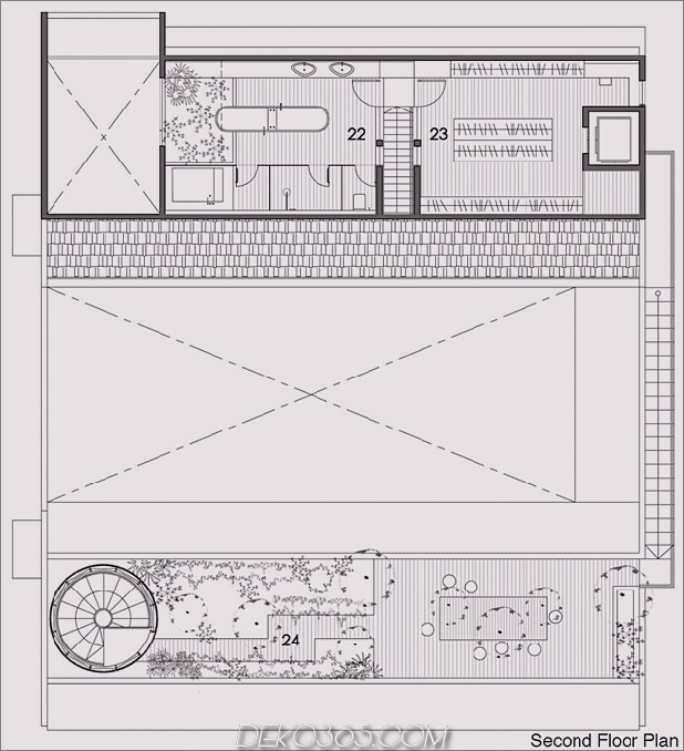Hof-Haus-Open-to-Outdoor-mit skulpturaler Treppe-15.jpg
