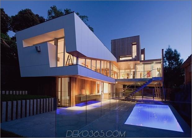 modernistisches Haus mit klassischem Stereo-Schrank inspirierte Holzvolumen 1 thumb 630xauto 35214 Innovative Glass Home Architecture von Vibe Design Group