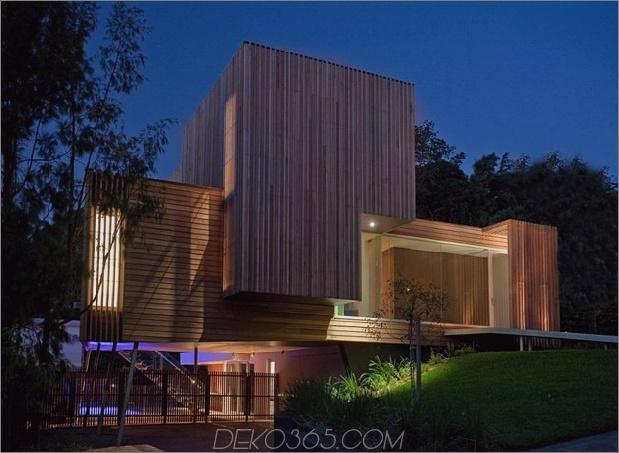 modernistisches Haus mit klassischem Stereo-Schrank inspirierte Holzvolumen 2 thumb 630xauto 35216 Innovative Glass Home Architecture von Vibe Design Group
