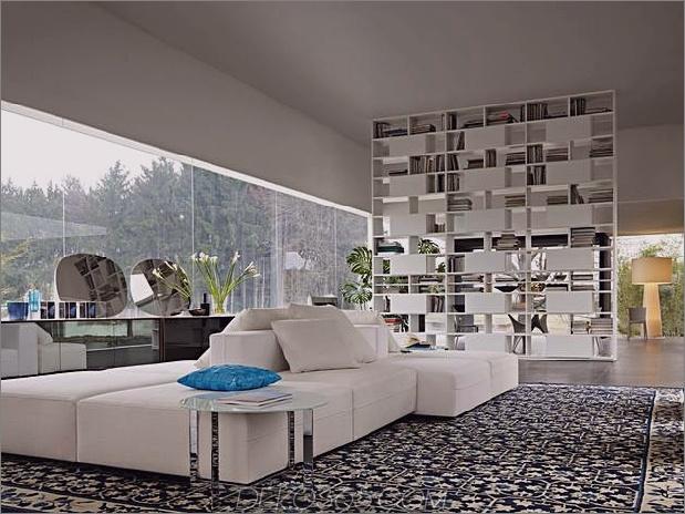 Glashaus beeindruckt mit moderner künstlerischer Kreativität 1 thumb 630x472 18345 Inspirationen für das Wohndesign von Molteni
