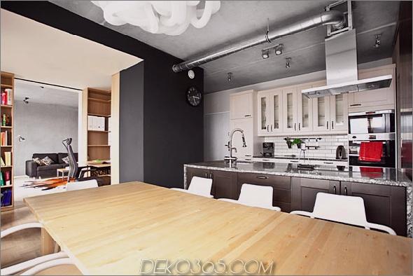 Bookbox Loft Modelina 2 Inspiring Apartment Design mit einer Black Box von Mode: Lina