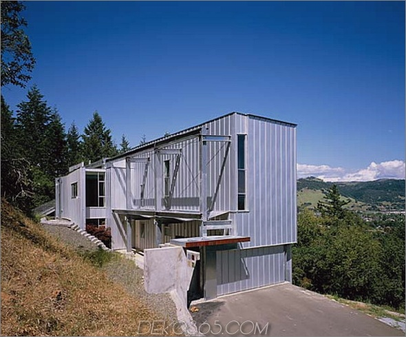 hauer-Residenz 2 Inspiriertes vorgefertigtes Custom-Home-Design für einen hauer in Santa Rosa, Kalifornien