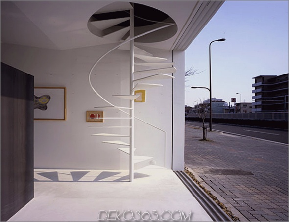 nagoya residence 3 Hinter der minimalistischen Fassade verborgene japanische Wohnarchitektur