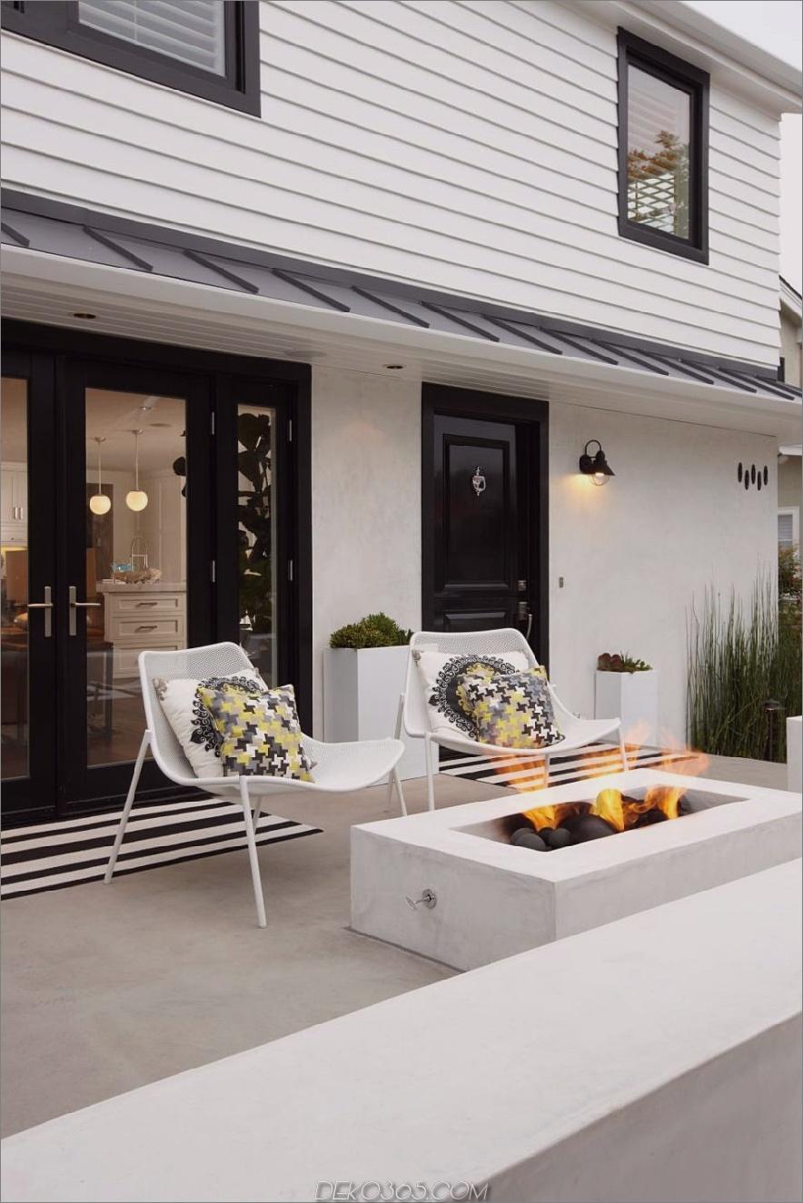Feuerstelle Terrasse