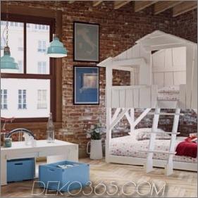 Kinderspielhausbetten von Mathy by Bols: Loft, Baumhaus, Baldachin