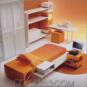 Kinderzimmer von Di Liddo & Perego, das sowohl Kindern als auch Erwachsenen gefallen wird!