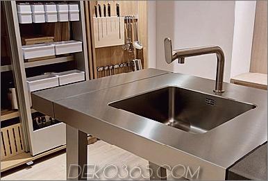 Bulthaup B2 Kücheninsel Waschbecken