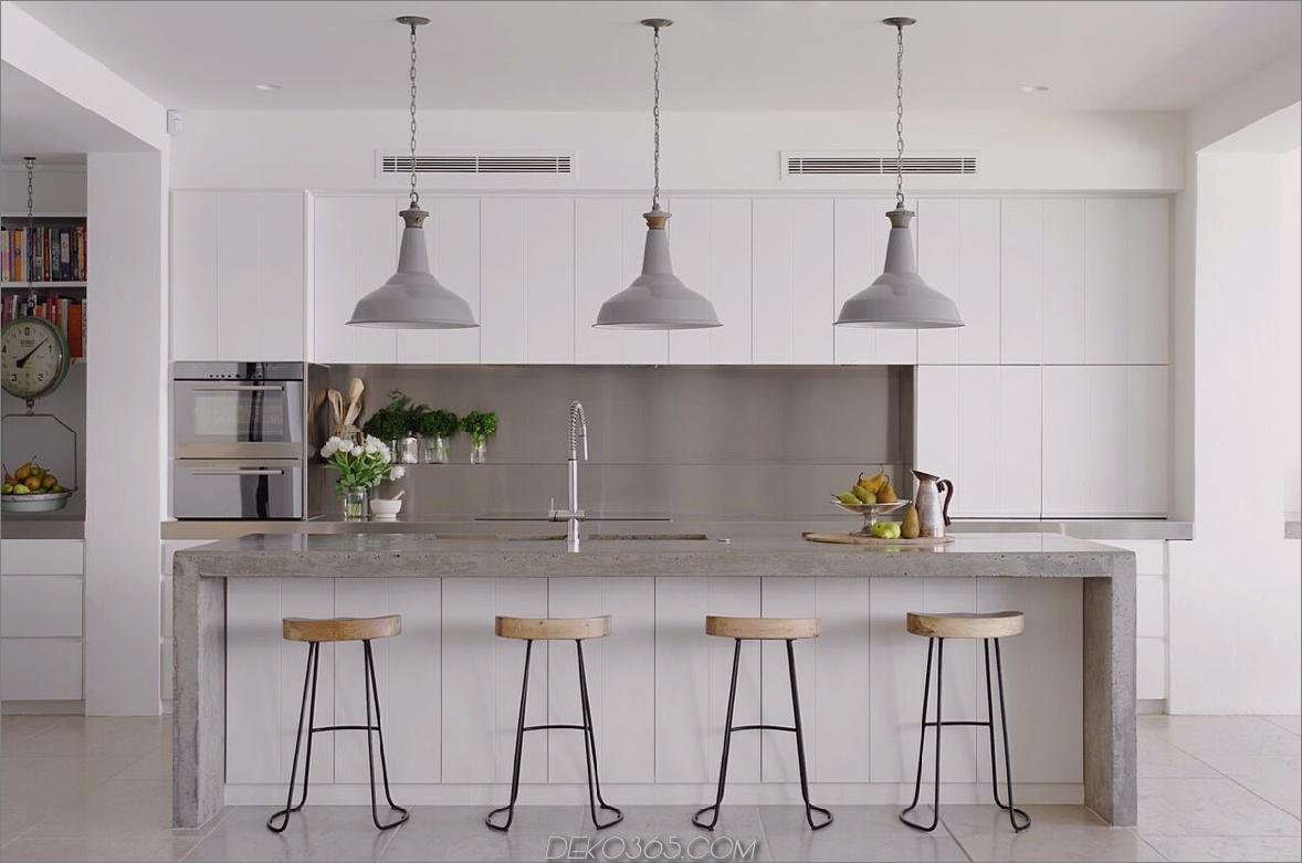 Lackschränke Kleine Küchentrends, die den Raum aufhellen