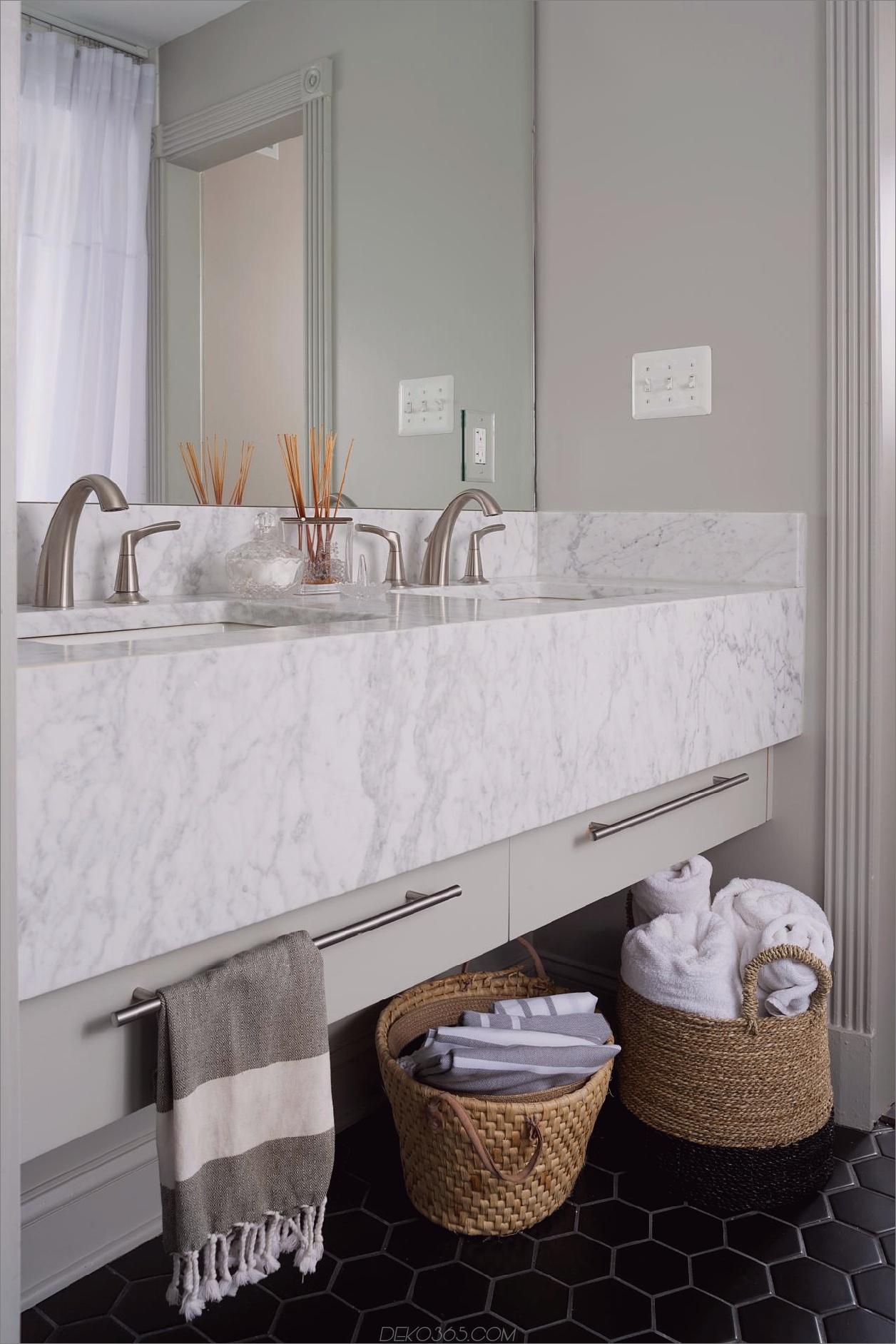 gewebte Körbe Kleines Badezimmer Dekor Optionen
