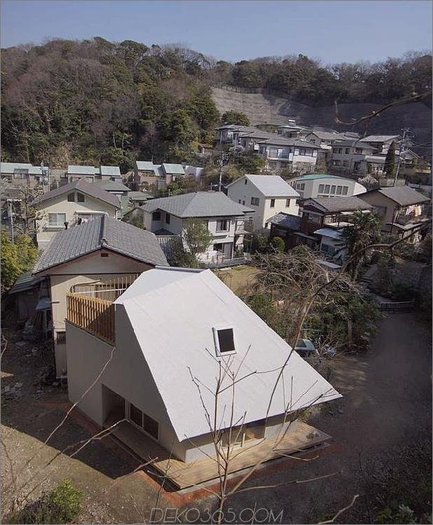 kompakter, diamantförmiger hausplan yuji tanabe 2 oben breites ansicht thumb 630x763 21281 Kompakter diamantförmiger hausplan Von Yuji Tanabe