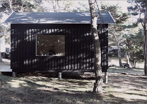 Kompakte Sperrholzkiefernkabine mit angeschlossener Sauna 1 Schlafzimmer gerader Daumen 630x447 28223 Kompakte Sperrholz- und Kieferkabine mit angeschlossener Sauna