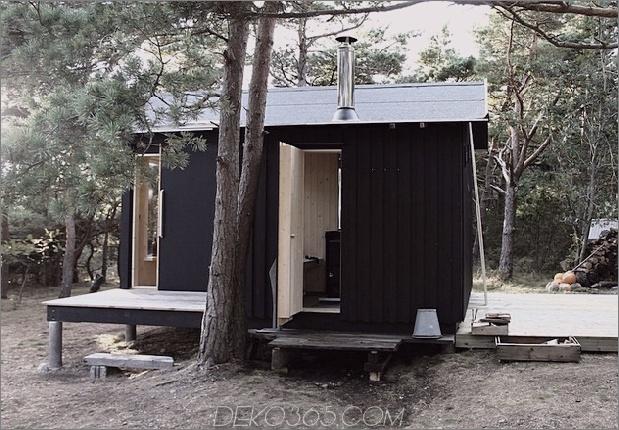 kompakte Sperrholz-Kiefer-Kabine-mit angeschlossener Sauna-5-Sauna-Tür.jpg