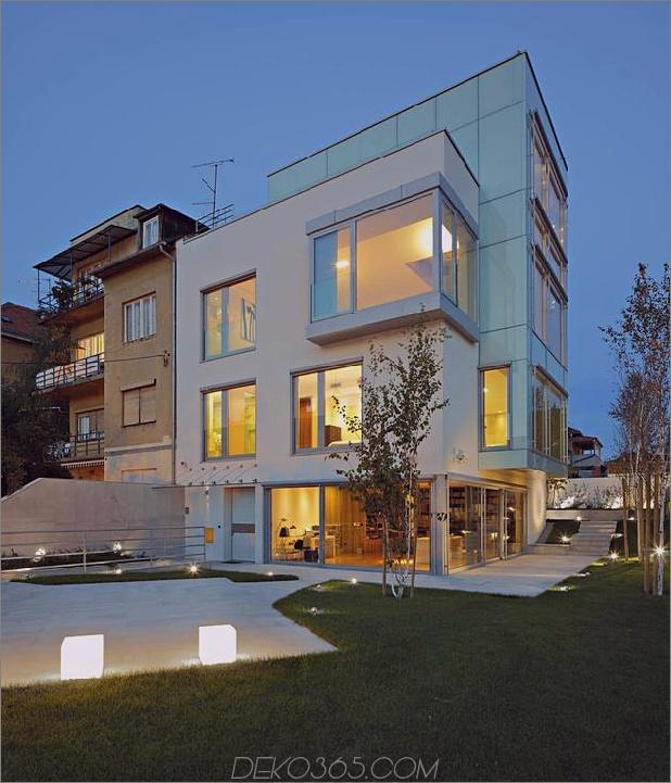 skulpturaler kreisförmiger Treppenhausfokus minimalistischer Wohnsitz 2 Äußerer Daumen 630x734 29472 Betonkreisförmiger Treppenhausfokus minimalistischer Wohnsitz