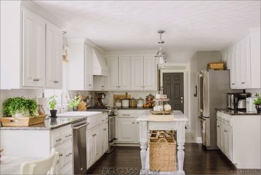 Küche dekoriert für Herbst 900x603 Küche Herbst Dekor Ideen, die einfach schön sind