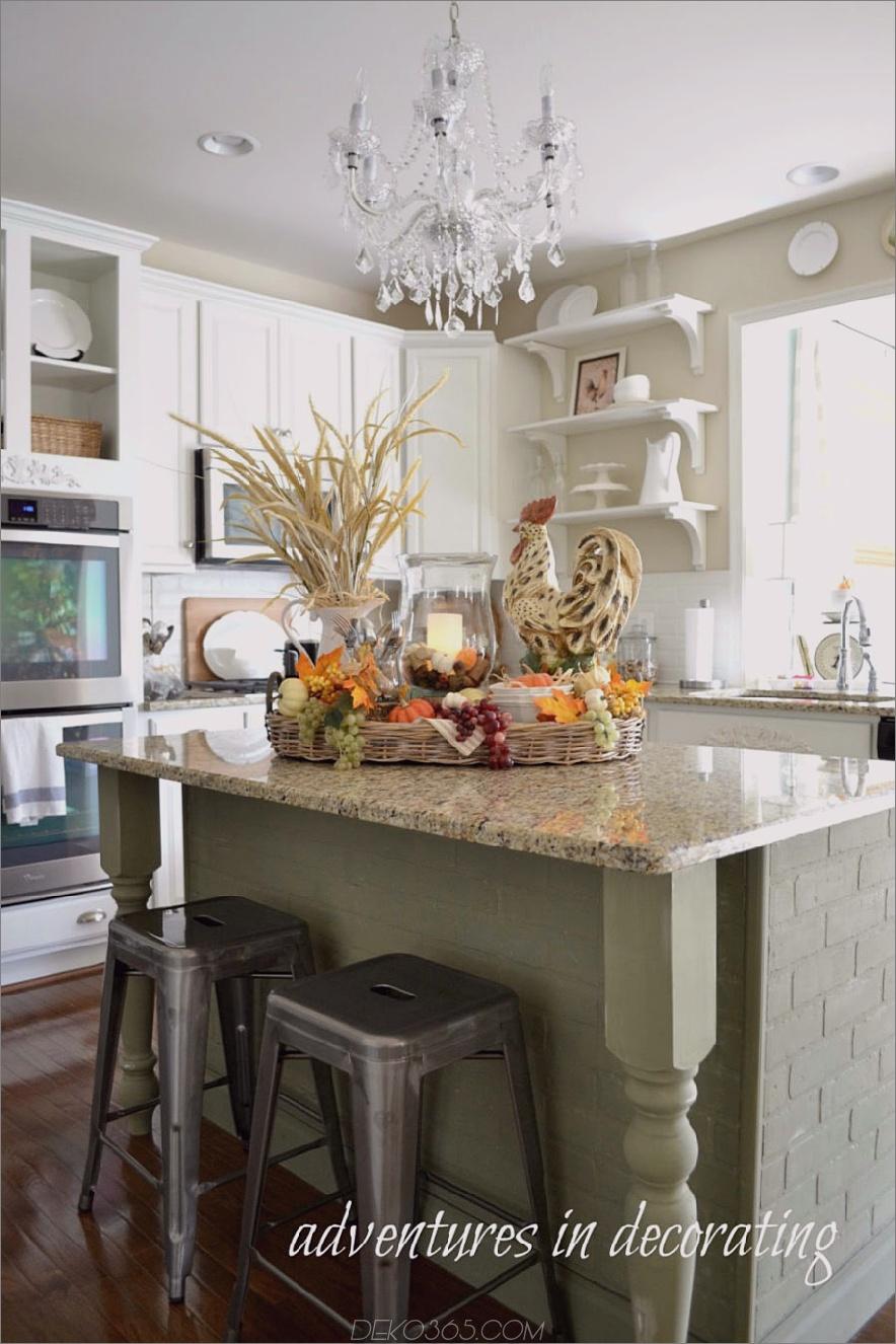 Kücheninsel fallen Herzstück 900x1351 Küche fallen Dekor Ideen, die einfach schön sind