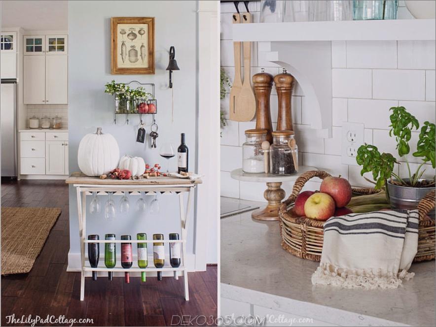 Die Lily Pad Cottage-Herbstküche