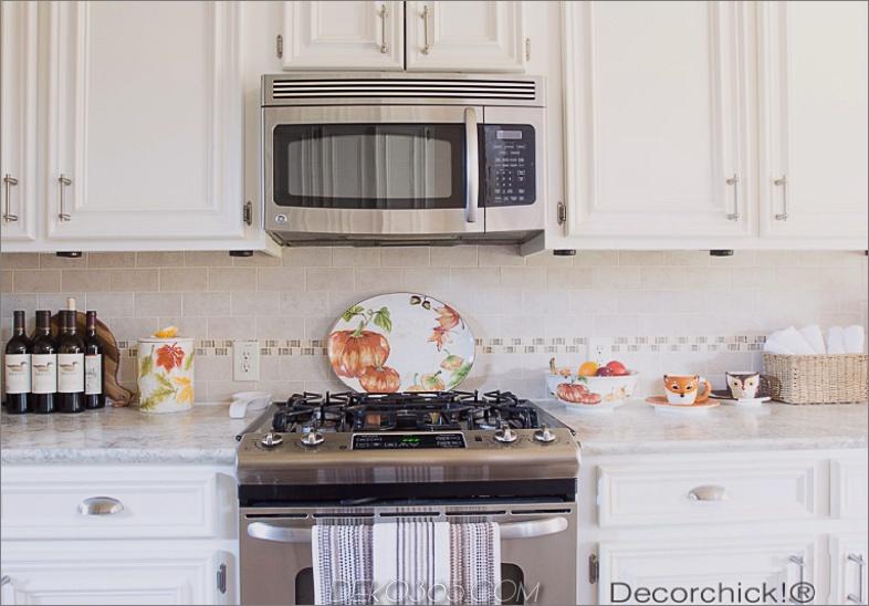 Küche fallen Dekorationen