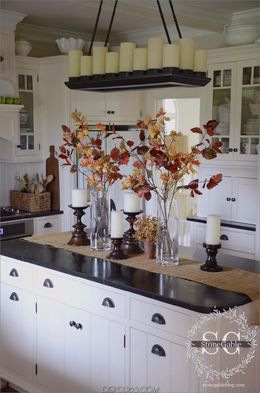 Stone Gable Blog Herbst Küche Dekor