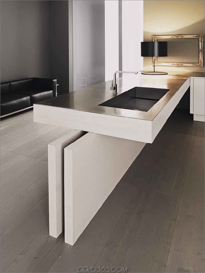 Küchen-Halbinsel entwerfen Küchen-Halbinsel-Designs, die Kochräume erstaunlich wirken lassen