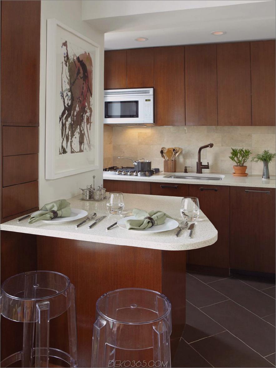 Kleine Küche Halbinsel Tisch