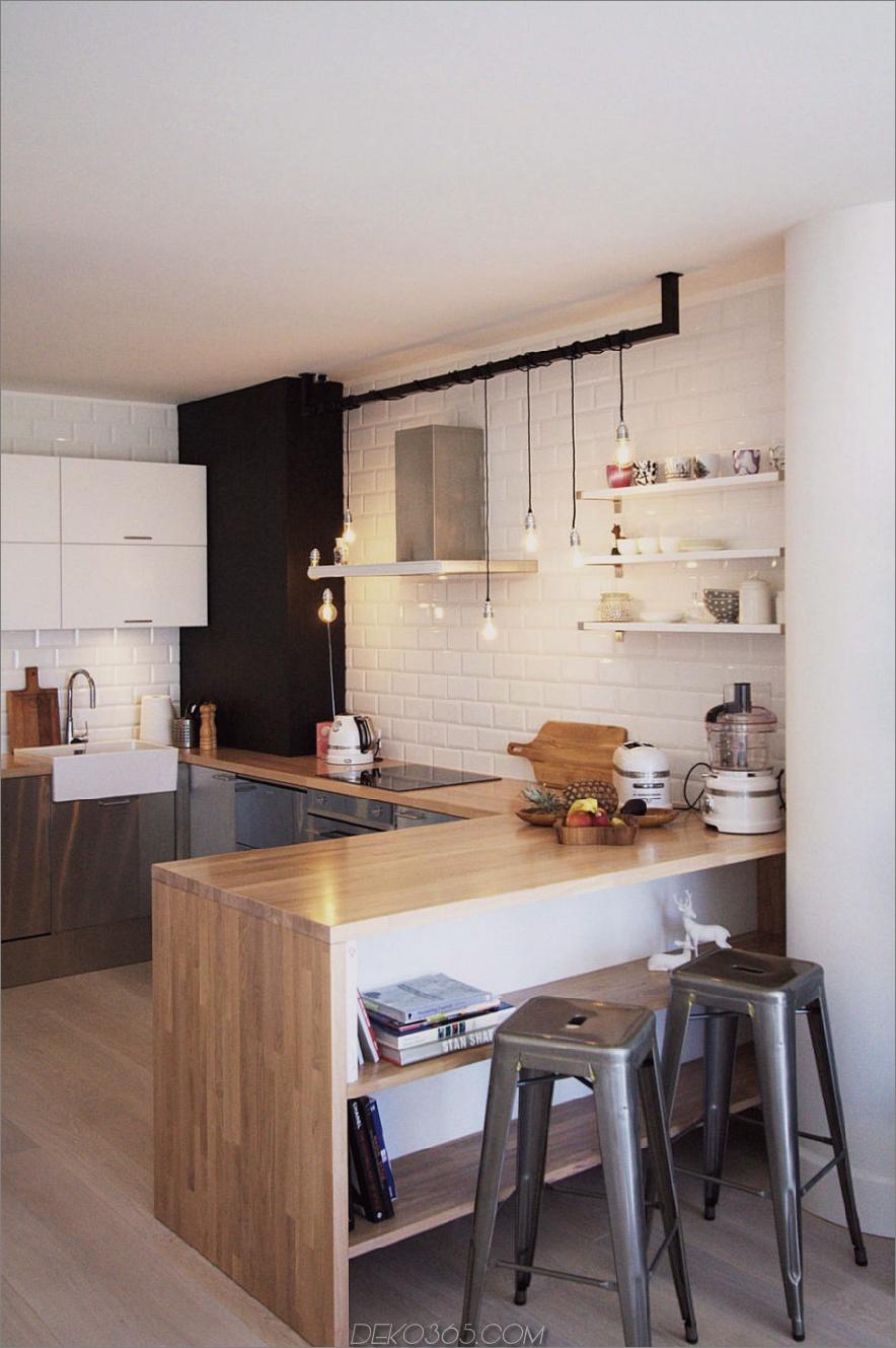 Coole Küchenhalbinsel