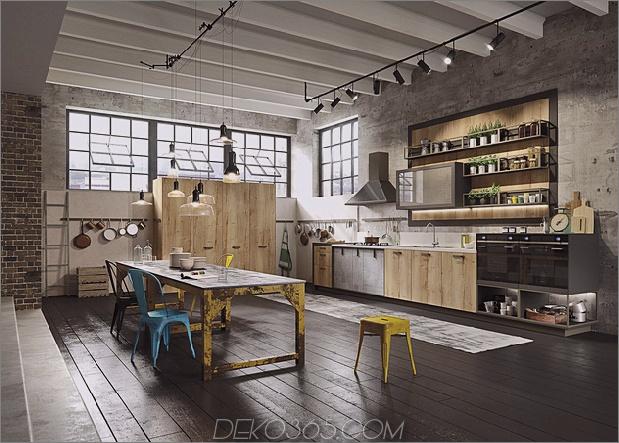 1 Küchendesign-Lofts 3 Urban Ideas snaidero thumb 630xauto 59847 Küchendesign für Lofts: 3 Urban Ideas von Snaidero