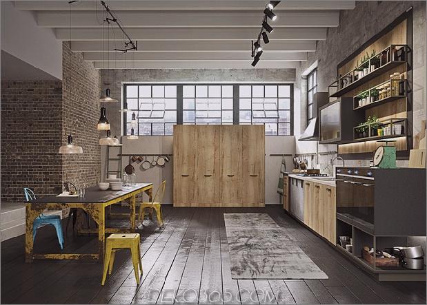 2 Küchendesign-Lofts 3 urbane Ideen snaidero thumb 630xauto 59849 Küchendesign für Lofts: 3 urbane Ideen von Snaidero