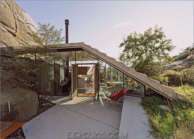 Norwegen Haus in Rock Cabin Knapphullet Lund Hagem 1 thumb 630xauto 63633 Küstenhütte auf den Felsen in Norwegen: Knapphullet von Lund Hagem