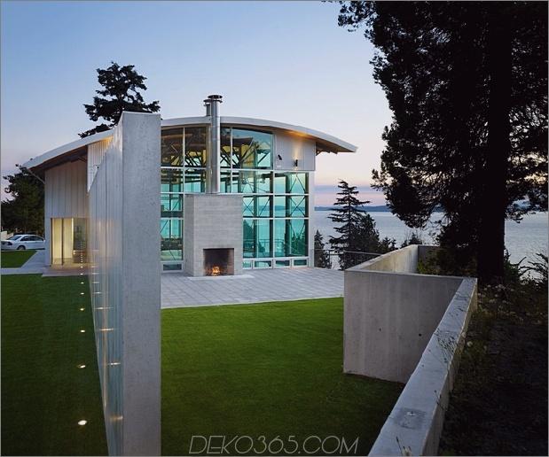 west seattle residence lawrence architects 1 thumb 630xauto 64301 Lawrence Architects kombiniert Stahl, Glas und Beton, um moderne Wohnzauber zu schaffen