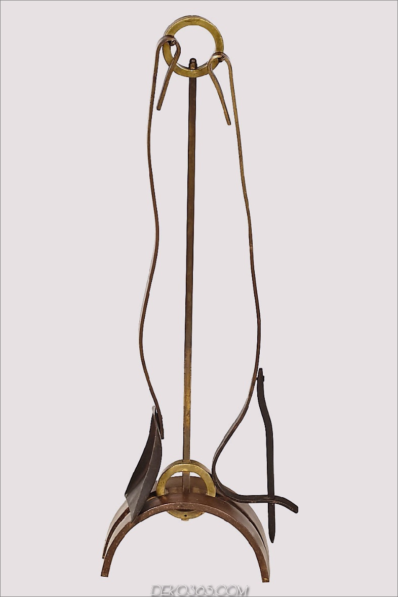 1950er Jahre Donald Deskey Kaminwerkzeuge
