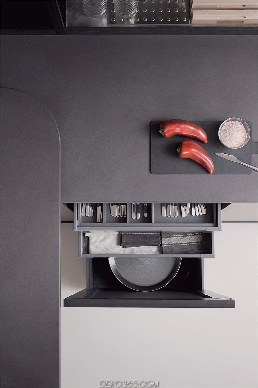 Linear ausgestattete Küche von Zampieri ist stilisiert_5c58b721babea.jpg