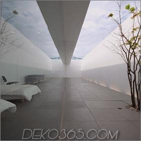 Lineares Hausdesign mit linearen Wohnräumen