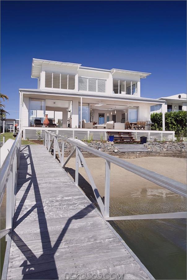 luftiges Haus am Strand mit zeitgenössischem Casual-Stil 2 Luftiges Haus am Strand mit modernem und lässigem Stil
