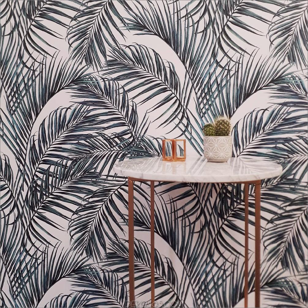 Palmblatt-Küche Fun Ways To Wallpaper Ihre Küche