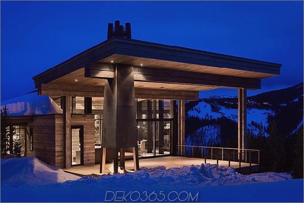 luxusresidenz skigebiet natürliche elemente 1 deck thumb 630x420 30657 Luxury Ski Residence in Montana