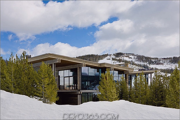 luxusresidenz skigebiet natürliche elemente 2 site thumb 630x420 30659 Luxury Ski Residence in Montana